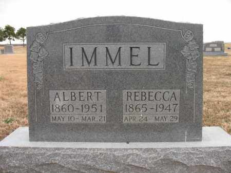 IMMEL, ALBERT - Cross County, Arkansas | ALBERT IMMEL - Arkansas Gravestone Photos