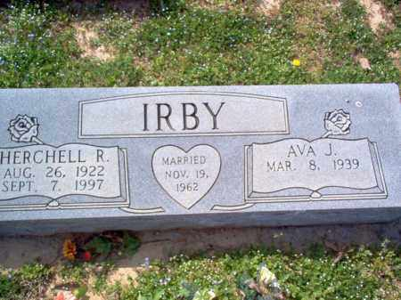 IRBY, HERCHELL R - Cross County, Arkansas | HERCHELL R IRBY - Arkansas Gravestone Photos