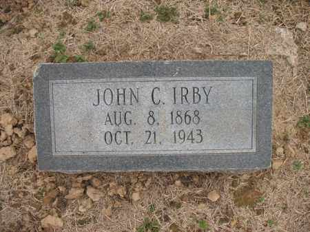 IRBY, JOHN C - Cross County, Arkansas | JOHN C IRBY - Arkansas Gravestone Photos
