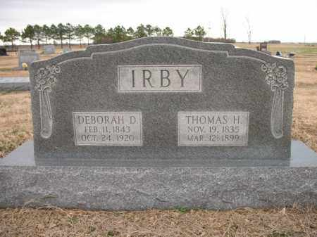 IRBY, THOMAS H - Cross County, Arkansas | THOMAS H IRBY - Arkansas Gravestone Photos