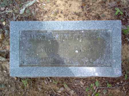 ISOM, MARY ELIZABETH - Cross County, Arkansas | MARY ELIZABETH ISOM - Arkansas Gravestone Photos
