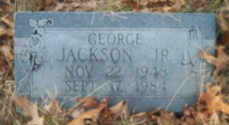 JACKSON, JR, GEORGE - Cross County, Arkansas | GEORGE JACKSON, JR - Arkansas Gravestone Photos
