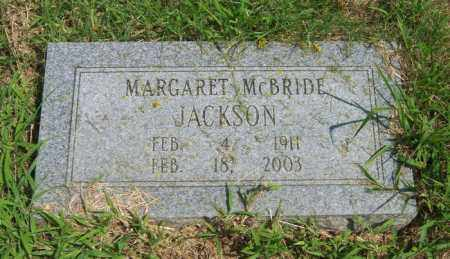 JACKSON, MARGARET - Cross County, Arkansas | MARGARET JACKSON - Arkansas Gravestone Photos