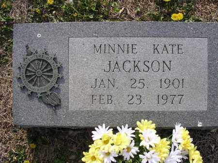 JACKSON, MINNIE KATE - Cross County, Arkansas | MINNIE KATE JACKSON - Arkansas Gravestone Photos