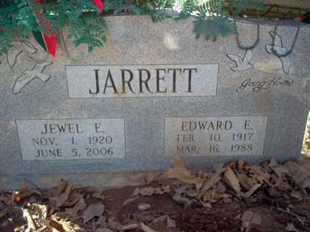 JARRETT, EDWARD ELVIN - Cross County, Arkansas | EDWARD ELVIN JARRETT - Arkansas Gravestone Photos