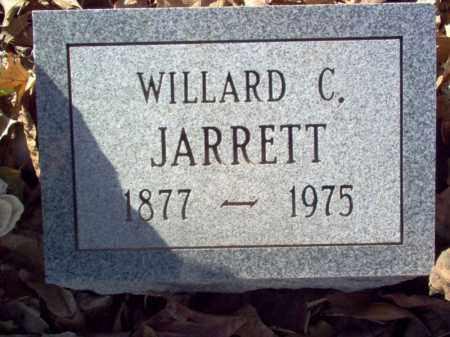 JARRETT, WILLARD C - Cross County, Arkansas | WILLARD C JARRETT - Arkansas Gravestone Photos
