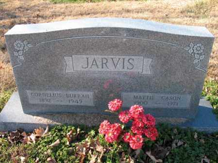 JARVIS, CORNELIUS BURRAH - Cross County, Arkansas | CORNELIUS BURRAH JARVIS - Arkansas Gravestone Photos