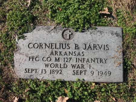 JARVIS (VETERAN WWI), CORNELIUS BURRAH - Cross County, Arkansas | CORNELIUS BURRAH JARVIS (VETERAN WWI) - Arkansas Gravestone Photos