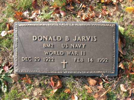 JARVIS (VETERAN WWII), DONALD BURRAH - Cross County, Arkansas | DONALD BURRAH JARVIS (VETERAN WWII) - Arkansas Gravestone Photos