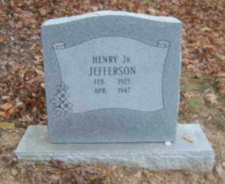JEFFERESON, JR, HENRY - Cross County, Arkansas | HENRY JEFFERESON, JR - Arkansas Gravestone Photos
