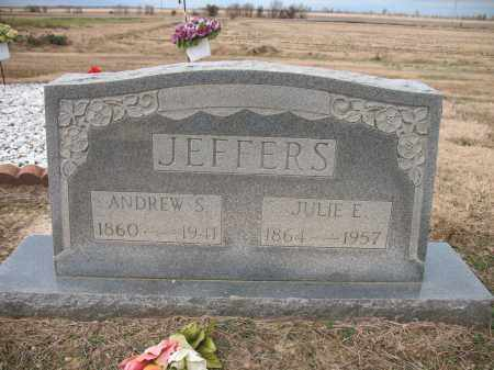 JEFFERS, ANDREW S - Cross County, Arkansas | ANDREW S JEFFERS - Arkansas Gravestone Photos