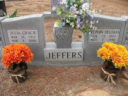 JEFFERS, DELPHIN DELLMAS - Cross County, Arkansas | DELPHIN DELLMAS JEFFERS - Arkansas Gravestone Photos