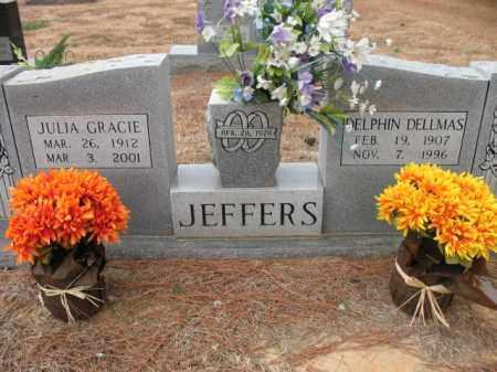 JEFFERS, JULIA GRACIE - Cross County, Arkansas | JULIA GRACIE JEFFERS - Arkansas Gravestone Photos