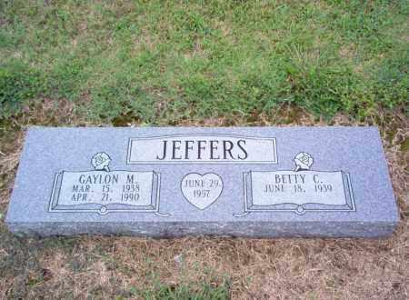 JEFFERS, GAYLON - Cross County, Arkansas | GAYLON JEFFERS - Arkansas Gravestone Photos
