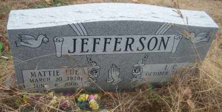 JEFFERSON, MATTIE LUE - Cross County, Arkansas | MATTIE LUE JEFFERSON - Arkansas Gravestone Photos