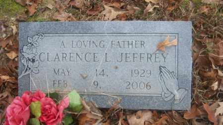 JEFFREY, CLARENCE L - Cross County, Arkansas | CLARENCE L JEFFREY - Arkansas Gravestone Photos
