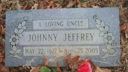 JEFFREY, JOHNNY - Cross County, Arkansas | JOHNNY JEFFREY - Arkansas Gravestone Photos