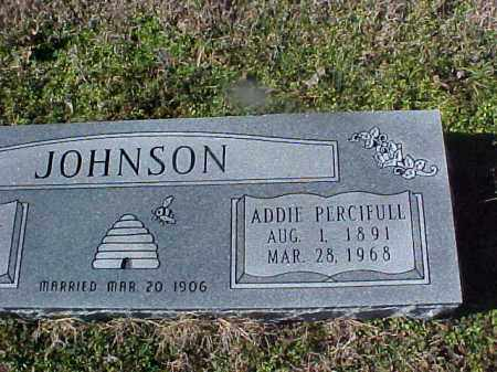 JOHNSON, ADDIE - Cross County, Arkansas | ADDIE JOHNSON - Arkansas Gravestone Photos