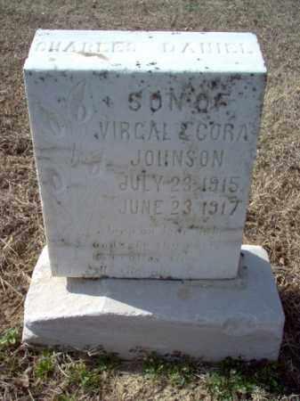 JOHNSON, CHARLES DANIEL - Cross County, Arkansas | CHARLES DANIEL JOHNSON - Arkansas Gravestone Photos