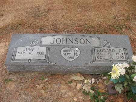 JOHNSON, HOWARD D - Cross County, Arkansas | HOWARD D JOHNSON - Arkansas Gravestone Photos