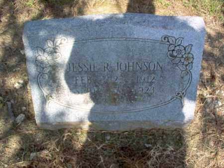 JOHNSON, JESSIE R - Cross County, Arkansas | JESSIE R JOHNSON - Arkansas Gravestone Photos