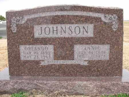 JOHNSON, ORLANDO - Cross County, Arkansas | ORLANDO JOHNSON - Arkansas Gravestone Photos