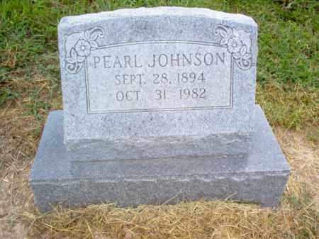 JOHNSON, PEARL - Cross County, Arkansas | PEARL JOHNSON - Arkansas Gravestone Photos