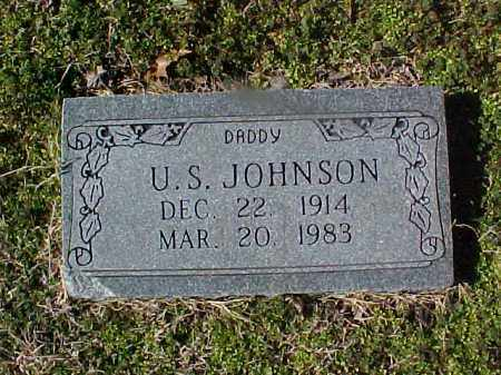 JOHNSON, U S - Cross County, Arkansas | U S JOHNSON - Arkansas Gravestone Photos