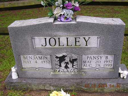 JOLLEY, PANSY B - Cross County, Arkansas | PANSY B JOLLEY - Arkansas Gravestone Photos