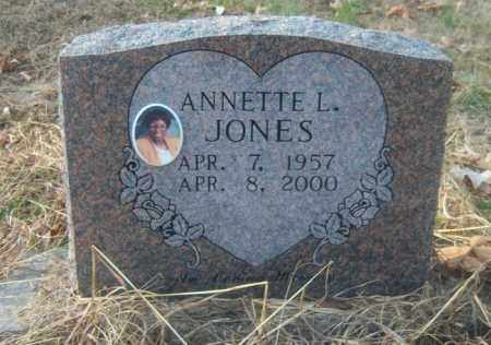 JONES, ANNETTE L - Cross County, Arkansas | ANNETTE L JONES - Arkansas Gravestone Photos