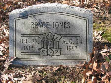 JONES, BRYCE - Cross County, Arkansas | BRYCE JONES - Arkansas Gravestone Photos
