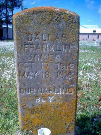 JONES, DALLAS FRANKLIN - Cross County, Arkansas | DALLAS FRANKLIN JONES - Arkansas Gravestone Photos