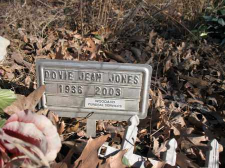 JONES, DOVIE JEAN - Cross County, Arkansas | DOVIE JEAN JONES - Arkansas Gravestone Photos