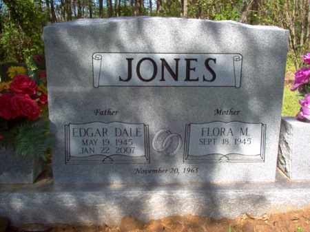JONES, EDGAR DALE - Cross County, Arkansas | EDGAR DALE JONES - Arkansas Gravestone Photos
