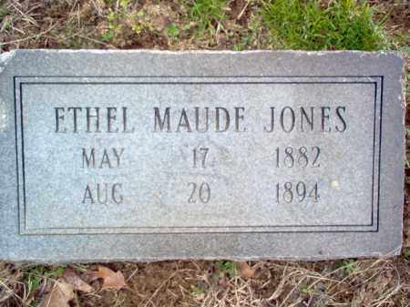 JONES, ETHEL MAUDE - Cross County, Arkansas | ETHEL MAUDE JONES - Arkansas Gravestone Photos
