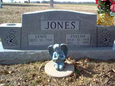 JONES, EVELINE - Cross County, Arkansas | EVELINE JONES - Arkansas Gravestone Photos