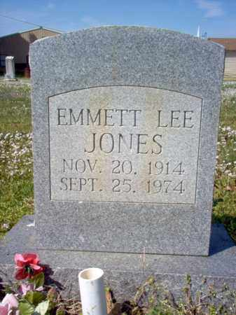 JONES, EMMETT LEE - Cross County, Arkansas | EMMETT LEE JONES - Arkansas Gravestone Photos