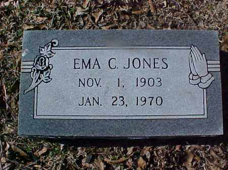 JONES, EMA C - Cross County, Arkansas | EMA C JONES - Arkansas Gravestone Photos