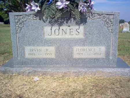 JONES, FLORENCE T - Cross County, Arkansas | FLORENCE T JONES - Arkansas Gravestone Photos