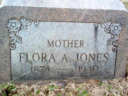 JONES, FLORA A - Cross County, Arkansas | FLORA A JONES - Arkansas Gravestone Photos