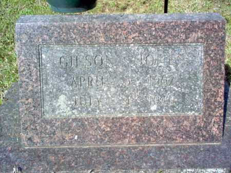 JONES, GILSON - Cross County, Arkansas | GILSON JONES - Arkansas Gravestone Photos