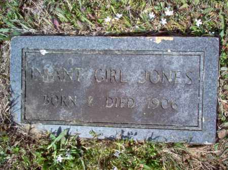 JONES, INFANT GIRL - Cross County, Arkansas | INFANT GIRL JONES - Arkansas Gravestone Photos