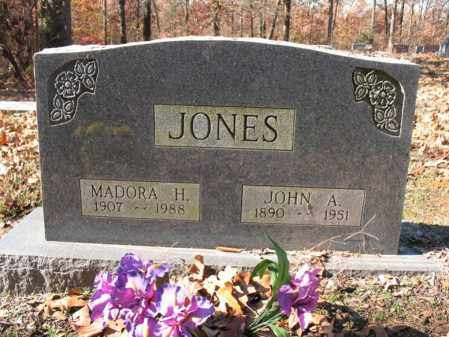 JONES, MADORA H. - Cross County, Arkansas | MADORA H. JONES - Arkansas Gravestone Photos