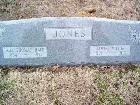 THOMAS JONES, ADA HALK - Cross County, Arkansas | ADA HALK THOMAS JONES - Arkansas Gravestone Photos