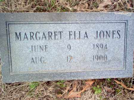 JONES, MARGARET ELLA - Cross County, Arkansas | MARGARET ELLA JONES - Arkansas Gravestone Photos