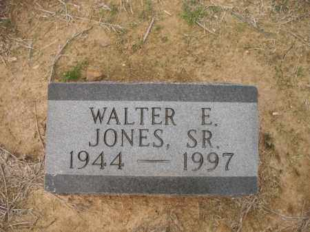 JONES, SR., WALTER E - Cross County, Arkansas | WALTER E JONES, SR. - Arkansas Gravestone Photos