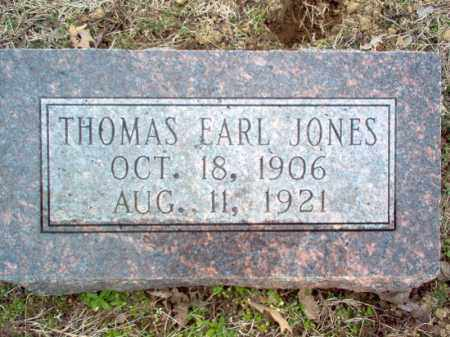 JONES, THOMAS EARL - Cross County, Arkansas | THOMAS EARL JONES - Arkansas Gravestone Photos