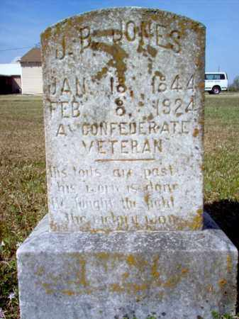 JONES (VETERAN CSA), JOHN BAILEY - Cross County, Arkansas | JOHN BAILEY JONES (VETERAN CSA) - Arkansas Gravestone Photos