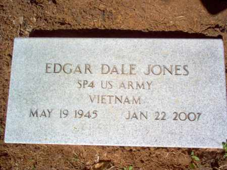 JONES (VETERAN VIET), EDGAR DALE - Cross County, Arkansas | EDGAR DALE JONES (VETERAN VIET) - Arkansas Gravestone Photos