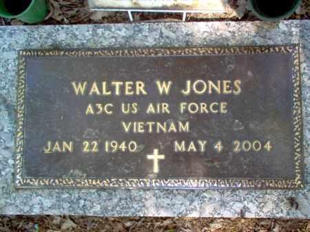 JONES (VETERAN VIET), WALTER W - Cross County, Arkansas | WALTER W JONES (VETERAN VIET) - Arkansas Gravestone Photos